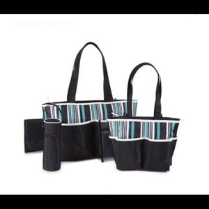 Other - NWOT Multitasker Baby Boom 5 Piece Diaper Bag Set